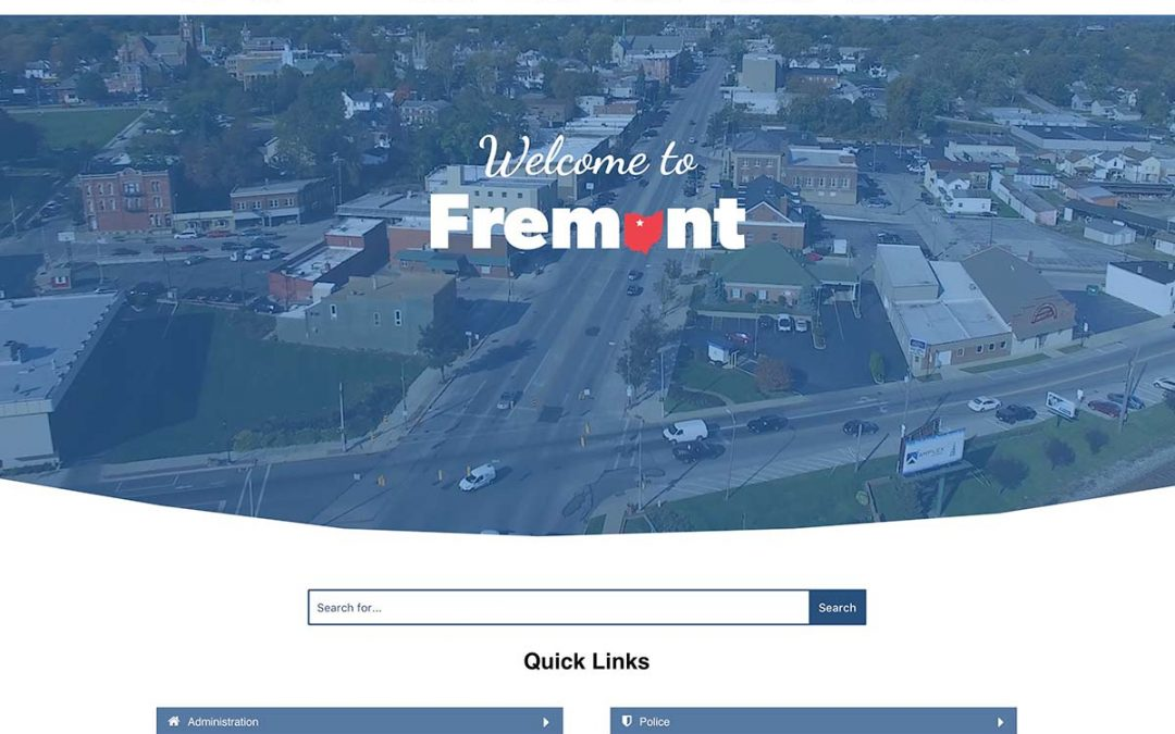 Welcome to the City of Fremont's New Website