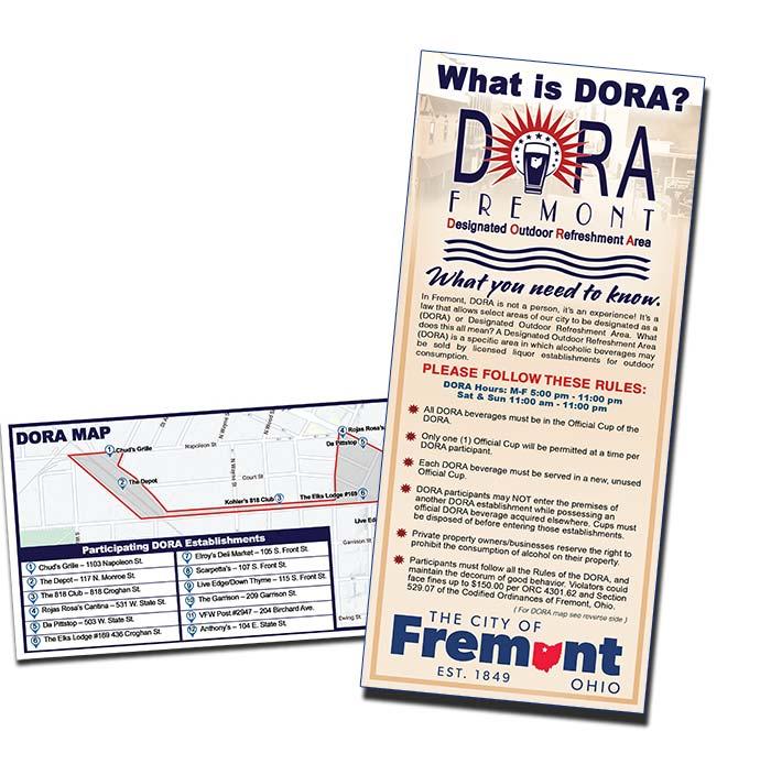 Dora Rack Card