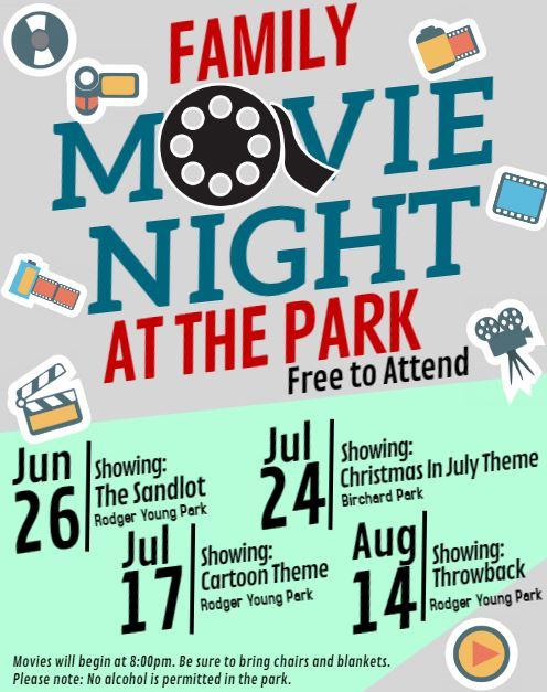 Mayor's Movie nights